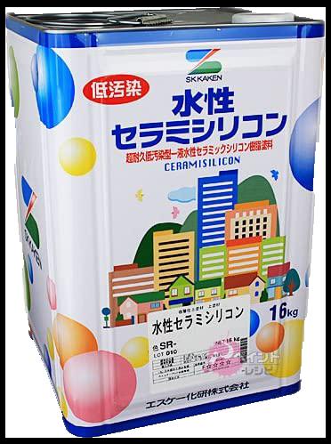 水性弾性セラミシリコン 塗料
