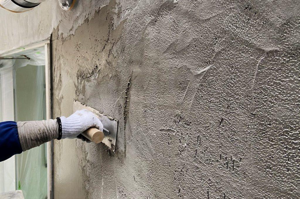 壁の下地補修工事