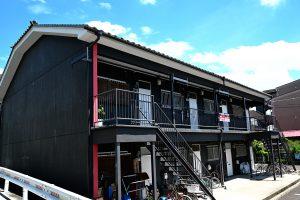 屋根工事 強化棟施工